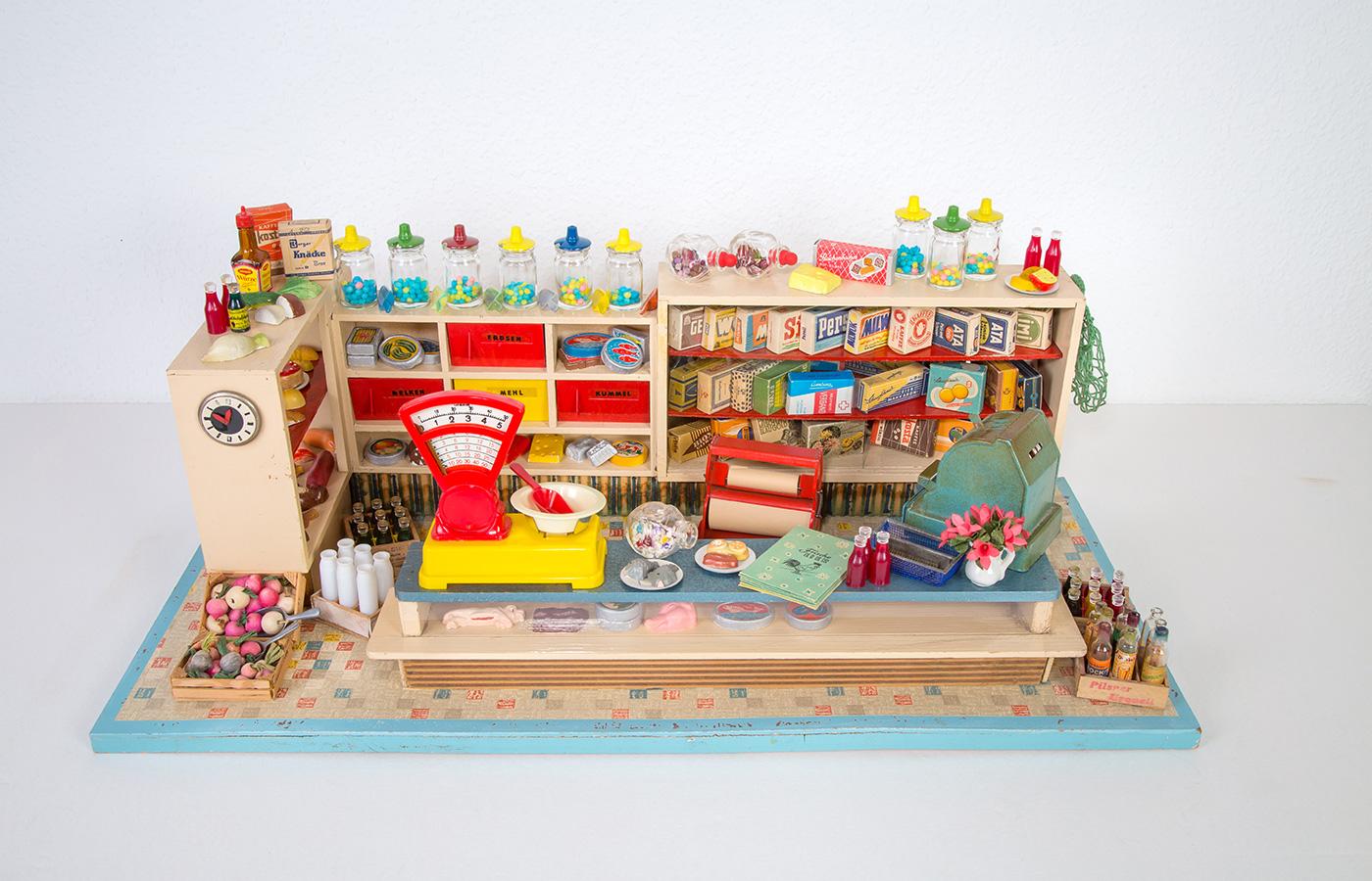 Kaufladen aus den 60er Jahren